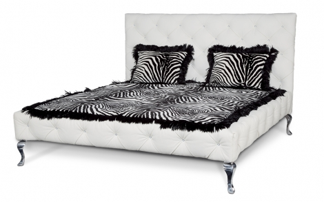 tiziana bett wei von bretz lifestyle und design. Black Bedroom Furniture Sets. Home Design Ideas