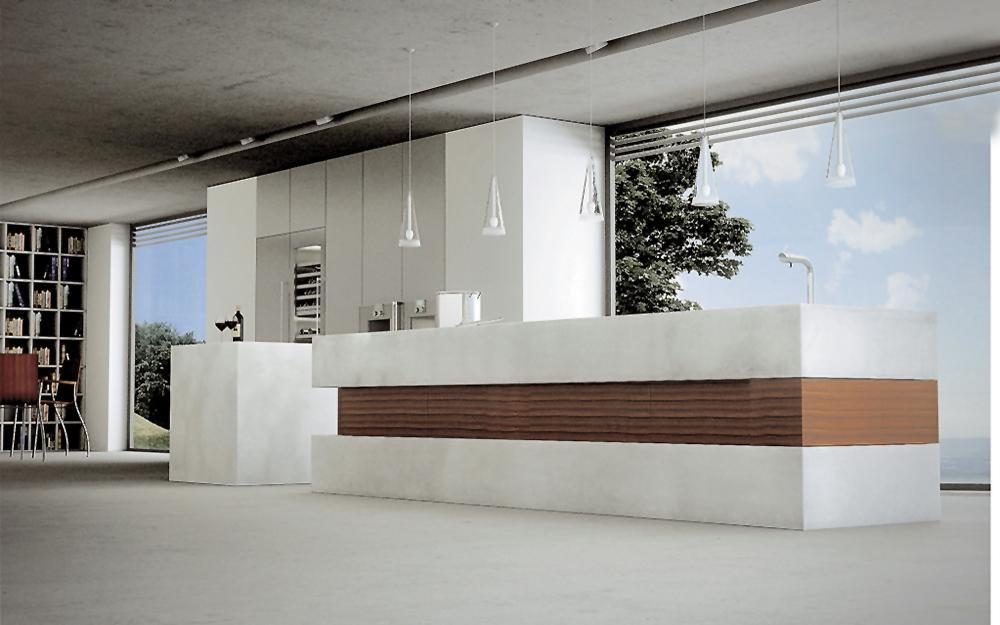 exklusives k chen design by walter wendel lifestyle und design. Black Bedroom Furniture Sets. Home Design Ideas