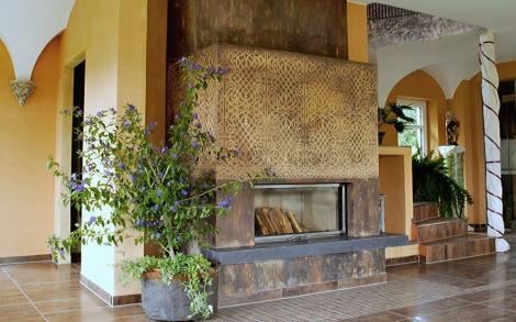 Wandgestaltung Von Stucco Pompeji