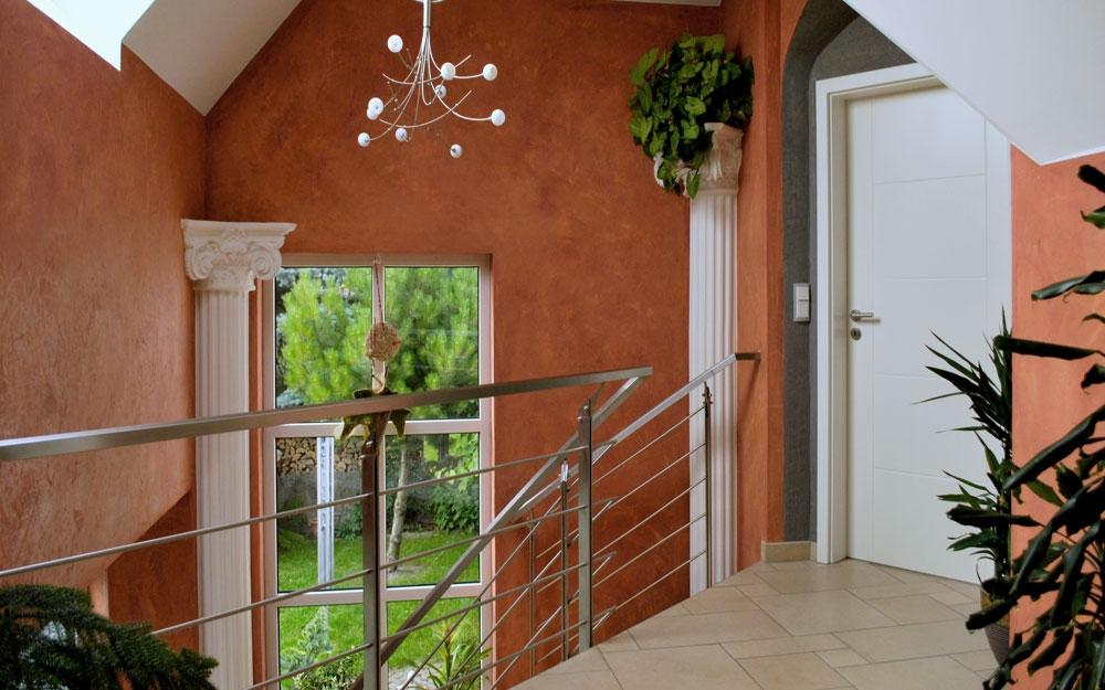 wandgestaltung bei stucco pompeji lifestyle und design. Black Bedroom Furniture Sets. Home Design Ideas