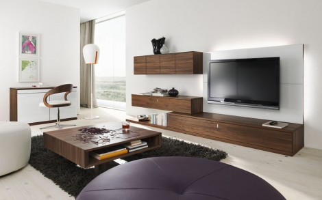 Wohnwand designermöbel  Wohnwand, Möbel und Design zum Einrichten und Wohnen von TEAM 7 ...
