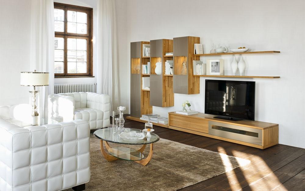 wohnwand m bel und design zum einrichten und wohnen von. Black Bedroom Furniture Sets. Home Design Ideas