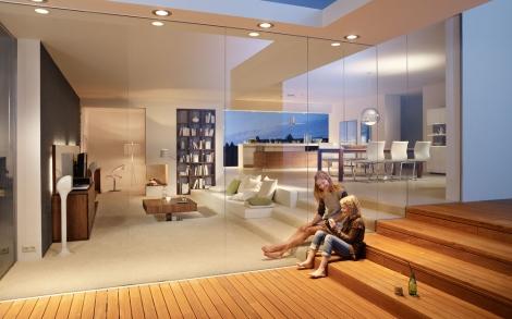 wohnwand m bel und design zum einrichten und wohnen von team 7 lifestyle und design. Black Bedroom Furniture Sets. Home Design Ideas
