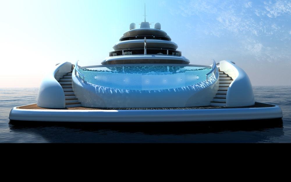 Schönste yacht der welt  Luxus Yacht und Boot Design Projekt EXPLORE von NEWCRUISE ...