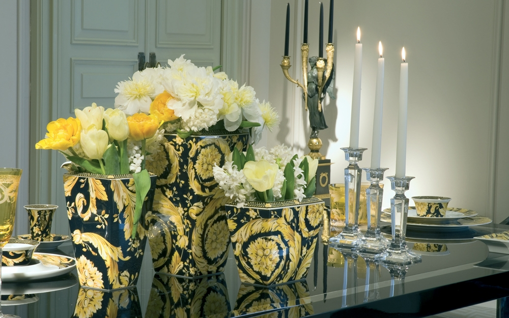 Versace arabesque gold lifestyle und design for Rosenthal home designs