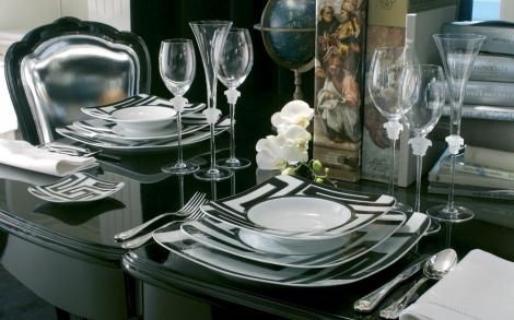designer porzellan versace dedalo von rosenthal lifestyle und design. Black Bedroom Furniture Sets. Home Design Ideas