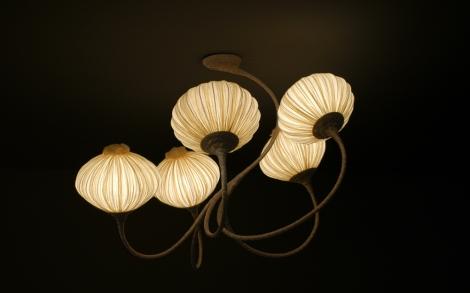 Captivating Lampen Leuchten Design Von AQUA Lampe 5Palms
