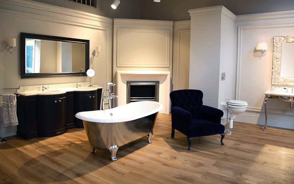 baddesign badewanne admiral mit nostalgie bad armaturen luxus bad b der von devon lifestyle. Black Bedroom Furniture Sets. Home Design Ideas