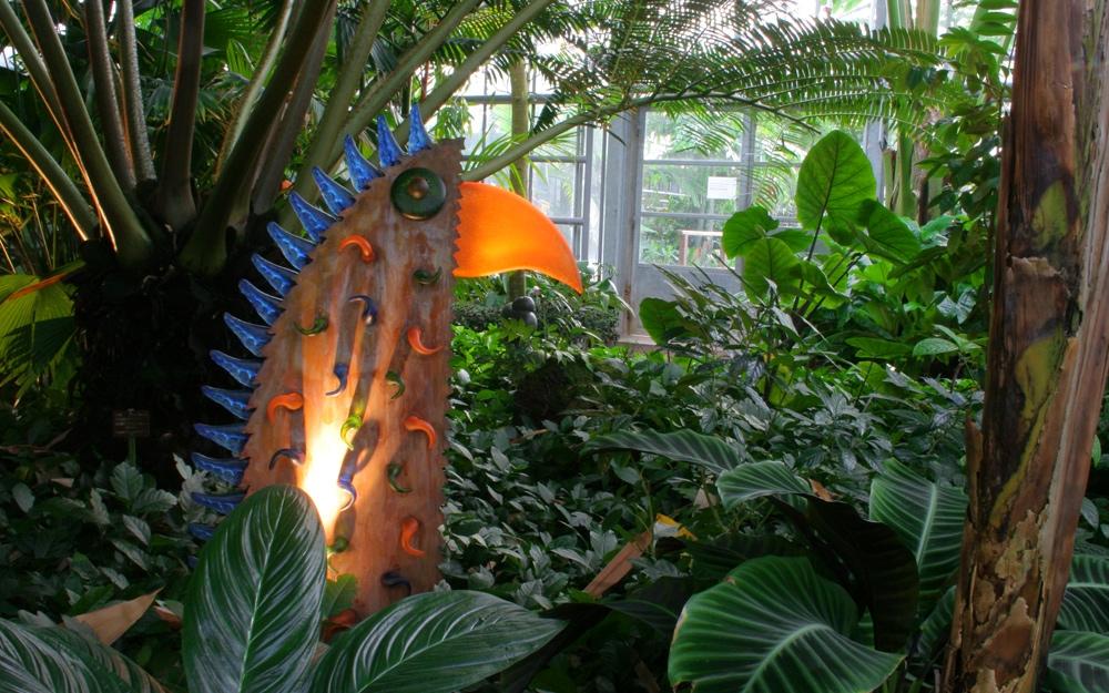Gartenskulptur spike t rkis glaskunst von borowski gallery lifestyle und design - Gartenskulpturen metall ...