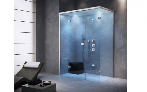 Eine Luxus Dampfdusche oder Badewanne als Whirlpool von Cleopatra ...