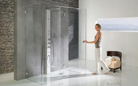 Eine neue duschwand als bad design von duscholux for Neues bad design
