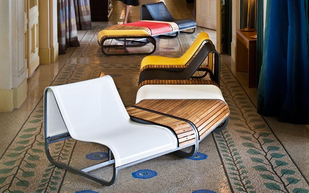 doppel sonnenliege tandem bain de soleil von ego paris. Black Bedroom Furniture Sets. Home Design Ideas