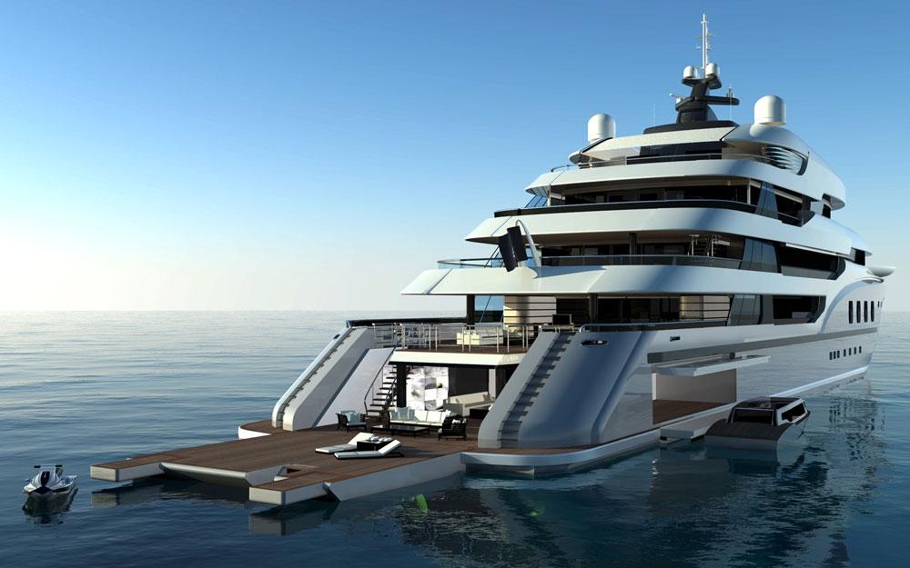 Yachten von innen  Interieur Design für Yacht und Boot Projekt SLEEKER von NEWCRUISE ...