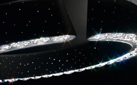Kristallwelten SWAROVSKI Leuchten aus Kristall von Swarovski