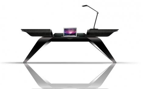 Designermöbel schreibtisch  Büro Tisch und Schreibtisch von Aston Martin Interieurs by ...