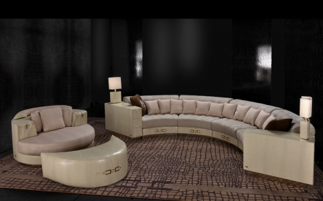 Sitzgarnitur, Sofa und Couch, Design Möbel by Formitalia ...