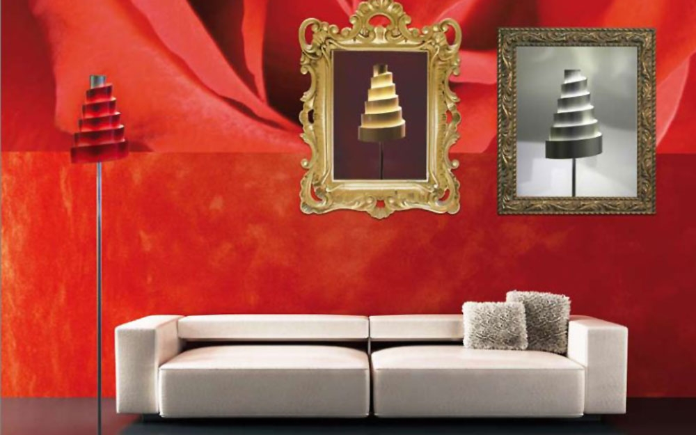 italienische designer lampe von illumiluce lifestyle und design. Black Bedroom Furniture Sets. Home Design Ideas