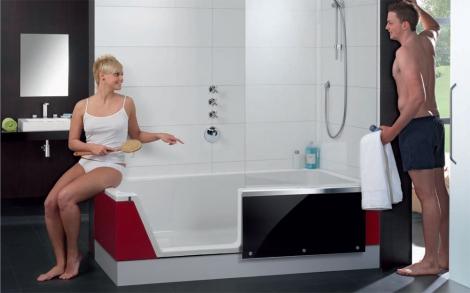 eine badewanne und dusche f r ihr badezimmer von repabad lifestyle und design. Black Bedroom Furniture Sets. Home Design Ideas
