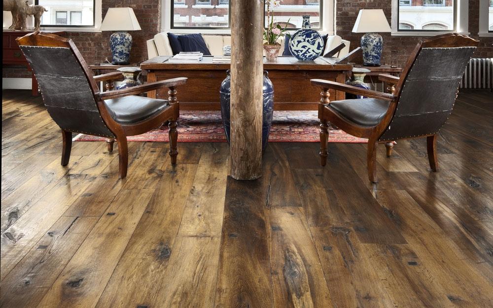 Holzboden Im Wintergarten rustikaler holzboden und dielenboden kährs lifestyle und design