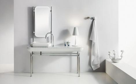 waschtisch console diamante von bad design bisazza italien lifestyle und design. Black Bedroom Furniture Sets. Home Design Ideas