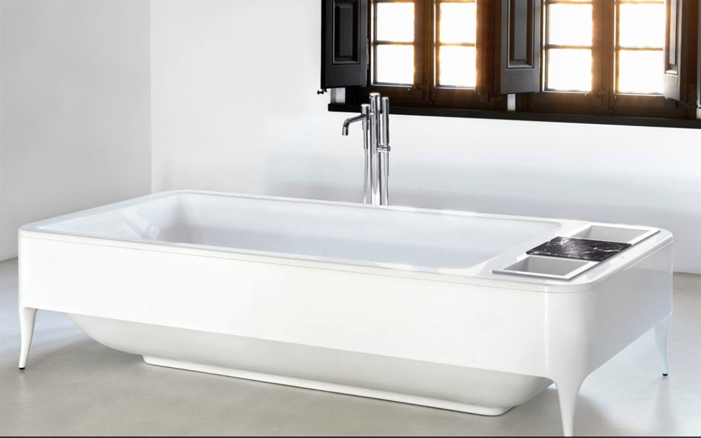 waschtisch und badewanne lavabi luxus b der von bisazza. Black Bedroom Furniture Sets. Home Design Ideas