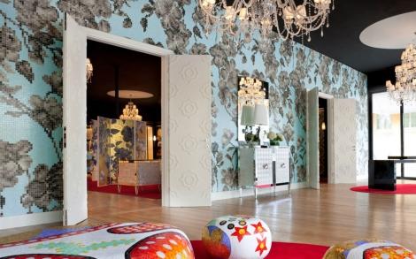 glasmosaik fliesen italienisches bad design von bisazza. Black Bedroom Furniture Sets. Home Design Ideas