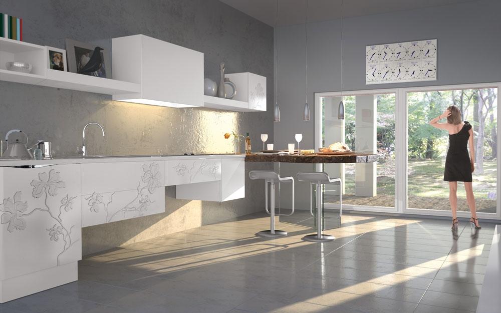 Italienische Möbel, Schlafzimmer und Bett von Bizzotto Italien ...