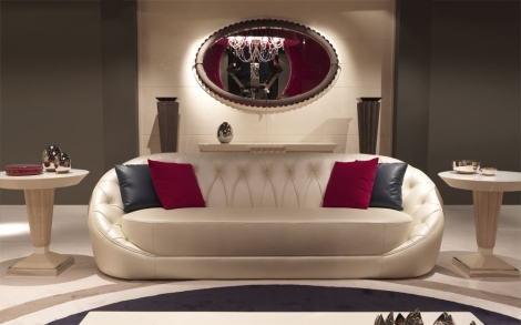 Sofa, Couch aus der Kollektion Orion, Designer Möbel von TURRI ...