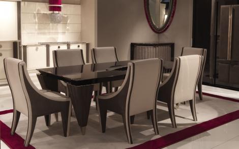 esstisch und st hle italienische m bel von turri italien lifestyle und design. Black Bedroom Furniture Sets. Home Design Ideas