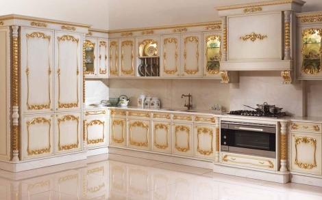 Luxus Kuchen Eine Antike Kuche Mit Gold Einlage Von Angelo