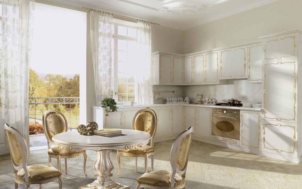 Luxusküchen Dekoration Inspiration Innenraum und Möbel