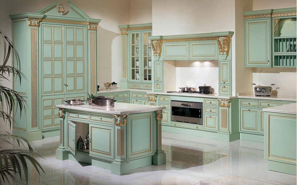 Luxusküchen, Antike Küchen, italienische Küchen von Angelo ...