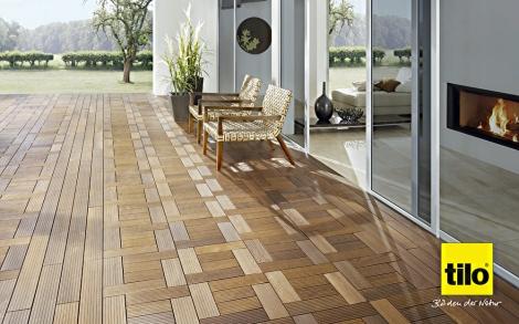 terrassen dielen terrassen boden von tilo lifestyle und design. Black Bedroom Furniture Sets. Home Design Ideas