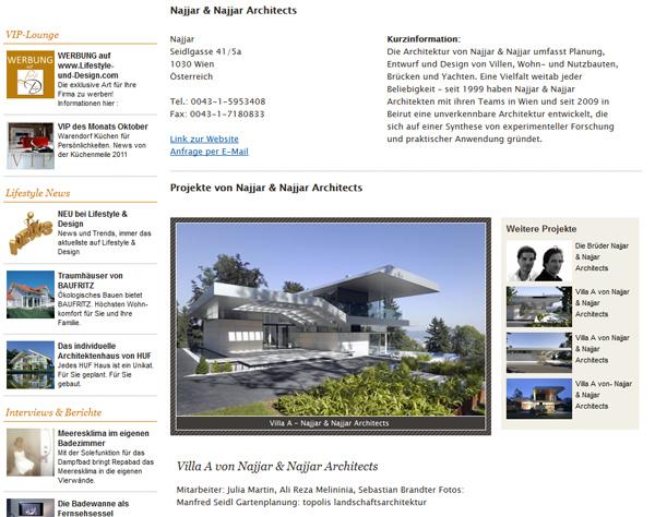 Anmeldung Zum Architekten Verzeichnis Lifestyle Und Design